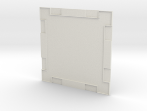 Wall 001a in White Strong & Flexible