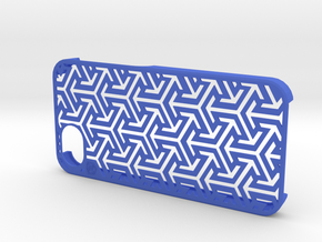 Triple arrows Iphone 5(s) Case  in Blue Strong & Flexible Polished