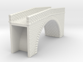 NPRT12 Road bridges over railway in White Strong & Flexible