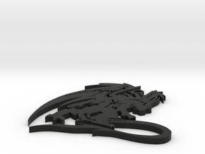 Dragon  in Black Natural Versatile Plastic