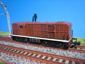 N 2501 DE NS LifeLike NEM zonder gaas in Smooth Fine Detail Plastic