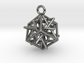 Star-in-Box in Fine Detail Polished Silver