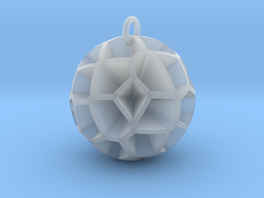 Voronoi sphere 3 in Smoothest Fine Detail Plastic