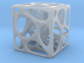 Voronoi cube in Smooth Fine Detail Plastic