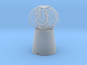 5 petal mini Lamp in Smooth Fine Detail Plastic