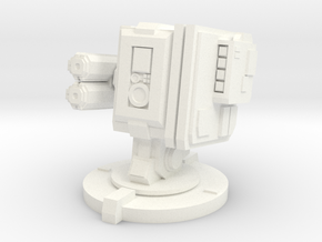 Sentry in White Processed Versatile Plastic