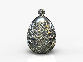 PA PFabergeV2fSE4952D19x24 in Rhodium Plated Brass