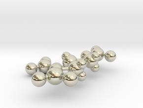 Nitroglycerin in 14k White Gold