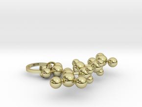 Nitroglycerin(ring added) in 18k Gold