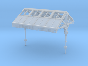 Platform Canopy Section 1 N Scale in Frosted Ultra Detail