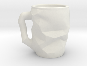 Innovative Coffee Cup in White Natural Versatile Plastic