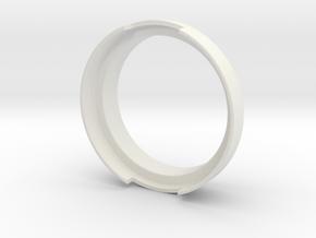 Dosing Ring for Olympia Cremina's Portafilter in White Natural Versatile Plastic