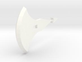idw: Chromia Axe (Blade) in White Processed Versatile Plastic