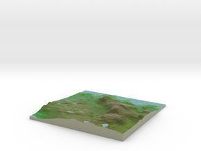 Terrafab generated model Wed May 06 2015 22:18:43  in Full Color Sandstone