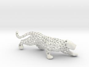 Exotiger in White Natural Versatile Plastic
