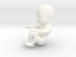 Baby in 5cm Passed in White Processed Versatile Plastic