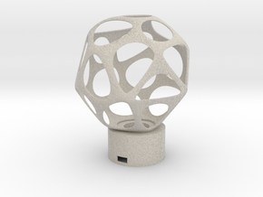 Lamp voronoi sphere1 in Natural Sandstone