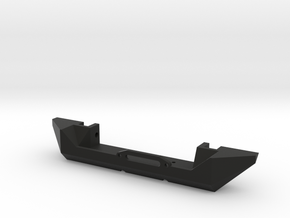 JK Simple Winch Bumper - Gelände 2 in Black Natural Versatile Plastic