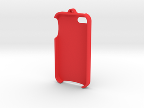 iPhone 4 - LoopCase in Red Strong & Flexible Polished