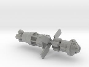 Spaceship (Type 03) - High Frontier in Metallic Plastic