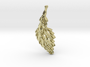 Wind in 18k Gold Plated Brass
