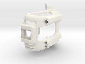 Seatcase 2.0. Bicycle Saddle for Fizik saddle in White Natural Versatile Plastic