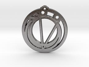 Gemini in Polished Nickel Steel