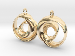Ear-Rings-01 in 14K Yellow Gold