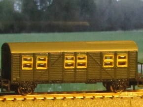 MCi-43 Behelfspersonenwagen (Z, 1:220) in Frosted Ultra Detail