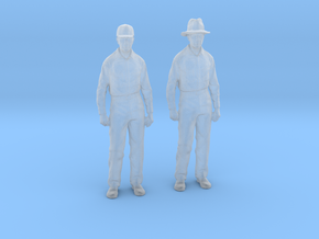 1:64 scale Fred 2 Pack in Smooth Fine Detail Plastic
