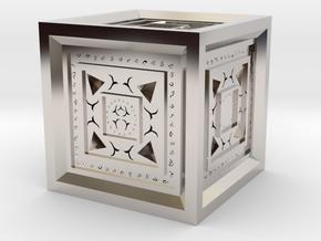 Strange Cube in Platinum