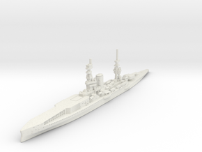 1/2400 HMS Furious BC-CV (1917) in White Strong & Flexible