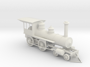 American standard locomotive 4-4-0 1:48 28mm in White Strong & Flexible