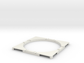 T-165-wagon-turntable-60d-100-corners-basic-1a in White Natural Versatile Plastic