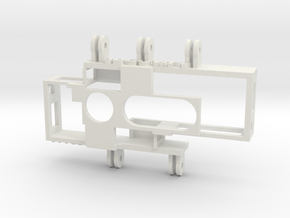 Adjustable IA SuperHero 3D Rig in White Strong & Flexible