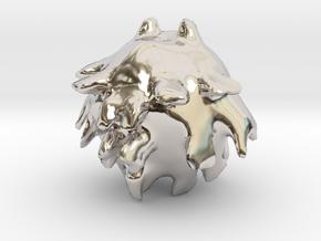31966 in Rhodium Plated Brass