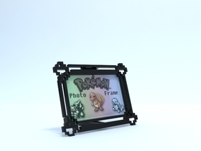 Pokemon Photo Frame (2x3) in Black Strong & Flexible