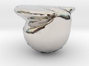 4540 in Rhodium Plated Brass