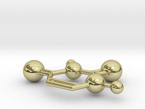 Uracil in 18k Gold
