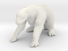 Megatherium 1 72(MEST 2015) in White Strong & Flexible