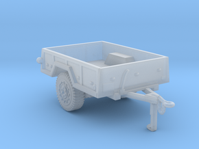 M101  trailer for humvee in Smooth Fine Detail Plastic