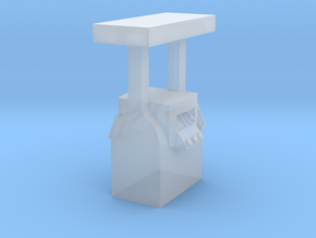 N Scale 1:160 Modern Gas Pump in Smooth Fine Detail Plastic