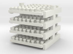 Freakoutturbosredone531 in White Natural Versatile Plastic
