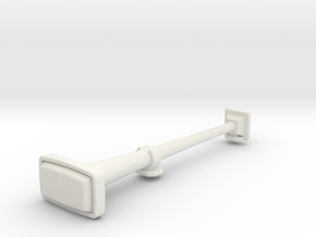 Air-horn in White Natural Versatile Plastic