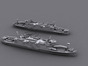 1/1800 IJN LSD ShinshuMaru[1942] in White Natural Versatile Plastic