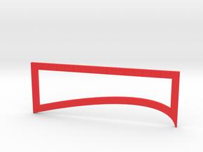 Fletching Tool in Red Processed Versatile Plastic