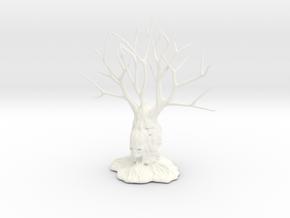 Totem Tree 004 in White Processed Versatile Plastic