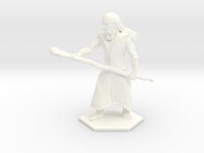 Staff Wizard in White Processed Versatile Plastic