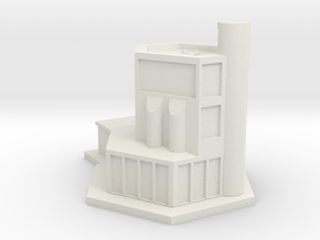 Office Tower in White Natural Versatile Plastic