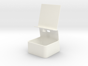 iPhone 6 Charging Stand w/ Storage in White Processed Versatile Plastic